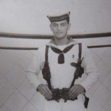 Militaria: FOTOGRAFÍA CABO MARINERO ARMADA ESPAÑOLA. CIM CARTAGENA. Lote 229070200