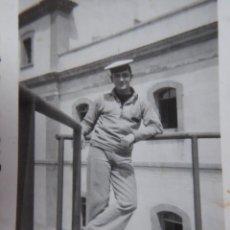 Militaria: FOTOGRAFÍA MARINERO ARMADA ESPAÑOLA. CIM CARTAGENA 1949. Lote 229115235