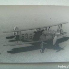Militaria: AVIACION : FOTO DE AVION DE LA FUERZA AEREA ESPAÑOLA. Lote 290083068