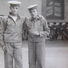 Militaria: FOTOGRAFÍA MARINEROS ARMADA ESPAÑOLA. CIM CARTAGENA 1948. Lote 229434190