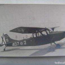 Militaria: AVIACION : FOTO DE AVION DE LA FUERZA AEREA ESPAÑOLA, ESCUADRILLA DE ENLACE. Lote 289001293