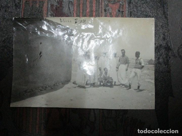 Militaria: regulares oficiales combatientes de guerra civil recien llegados a BASE FUERTE de TILIUIN 1939 - Foto 3 - 229579545