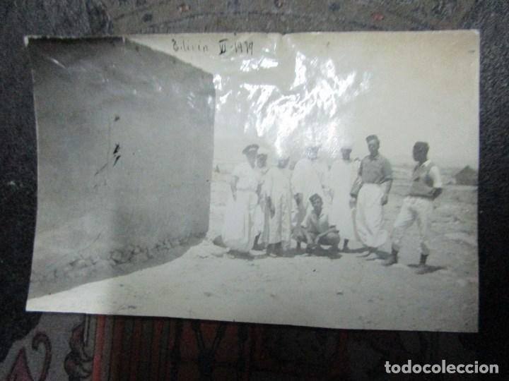 Militaria: regulares oficiales combatientes de guerra civil recien llegados a BASE FUERTE de TILIUIN 1939 - Foto 7 - 229579545