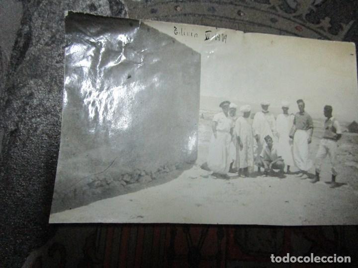 Militaria: regulares oficiales combatientes de guerra civil recien llegados a BASE FUERTE de TILIUIN 1939 - Foto 8 - 229579545