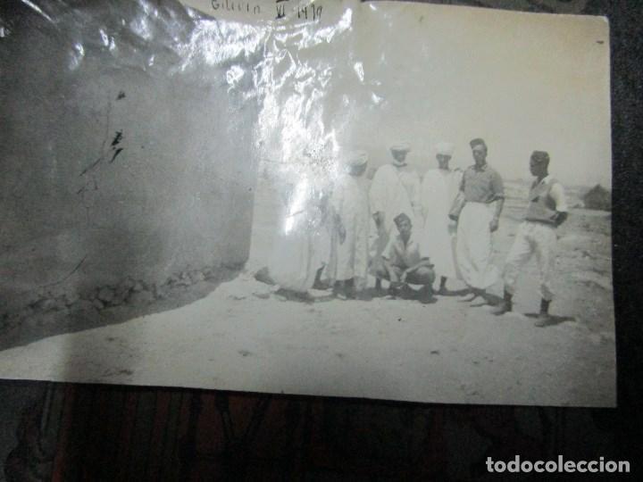 Militaria: regulares oficiales combatientes de guerra civil recien llegados a BASE FUERTE de TILIUIN 1939 - Foto 10 - 229579545