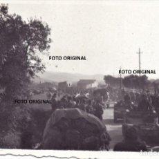 Militaria: OFENSIVA CATALUÑA CARROS ITALIANOS CTV FEBRERO 1939 GUERRA CIVIL. Lote 229711030