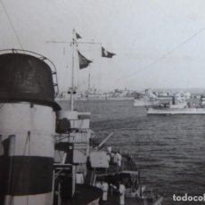 Militaria: FOTOGRAFÍA CRUCERO ALMIRANTE CERVERA. 1939. Lote 231778665
