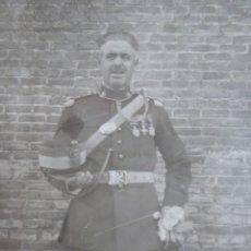 Militaria: FOTOGRAFÍA ALFÉREZ ARTILLERÍA DEL EJÉRCITO ESPAÑOL. ALFONSO XIII. Lote 232055205