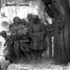 Militaria: NEGATIVO MONUMENTO PEREDA SANTANDER CTV FIAMME NERE SEPTIEMBRE 1937 FRENTE NORTE GUERRA CIVIL. Lote 232324590