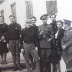 Militaria: FOTOGRAFÍA ALFÉRECES PROVISIONAL DEL EJÉRCITO NACIONAL. ACADEMIA DAR RIFFIEN CEUTA. Lote 232467685