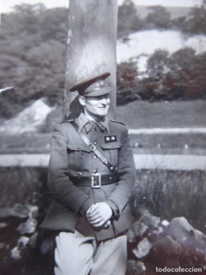 FOTOGRAFÍA TENIENTE PROVISIONAL DEL EJÉRCITO NACIONAL. (Militar - Fotografía Militar - Guerra Civil Española)
