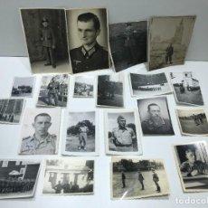 Militaria: LOTE DE FOTOGRAFIAS MILITARES DE LA 1 Y 2 GUERRA MUNDIAL - ALEMANES. Lote 234311305