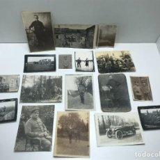 Militaria: LOTE DE FOTOGRAFIAS MILITARES DE LA 1 Y 2 GUERRA MUNDIAL - ALEMANES ( 2 ). Lote 234357860