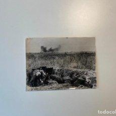 Militaria: FOTOGRAFIA DE PRENSA WWII , ALEMANIA , PRESS PHOTO , 2 GUERRA MUNDIAL 24 X 18 CM. Lote 234559395