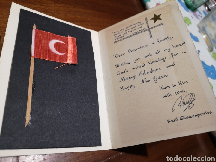 Militaria: Fotografía en postal militar turco más willy años 60 - Foto 2 - 234722465
