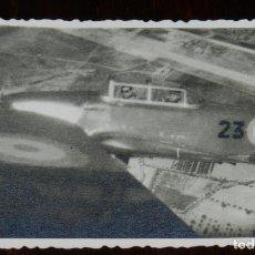 Militaria: FOTOGRAFIA DEL EJERCITO DEL AIRE, AVIACION ESPAÑOLA, AVIONES BIPLAZA, MIDE 9,5 X 6,5 CMS.. Lote 234743475