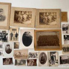 Militaria: LOTE DE FOTOGRAFIA MILITAR , ALGERIE , ALGER , BOTECULET CAPITANÉ , FRANCIA ,. Lote 235052455