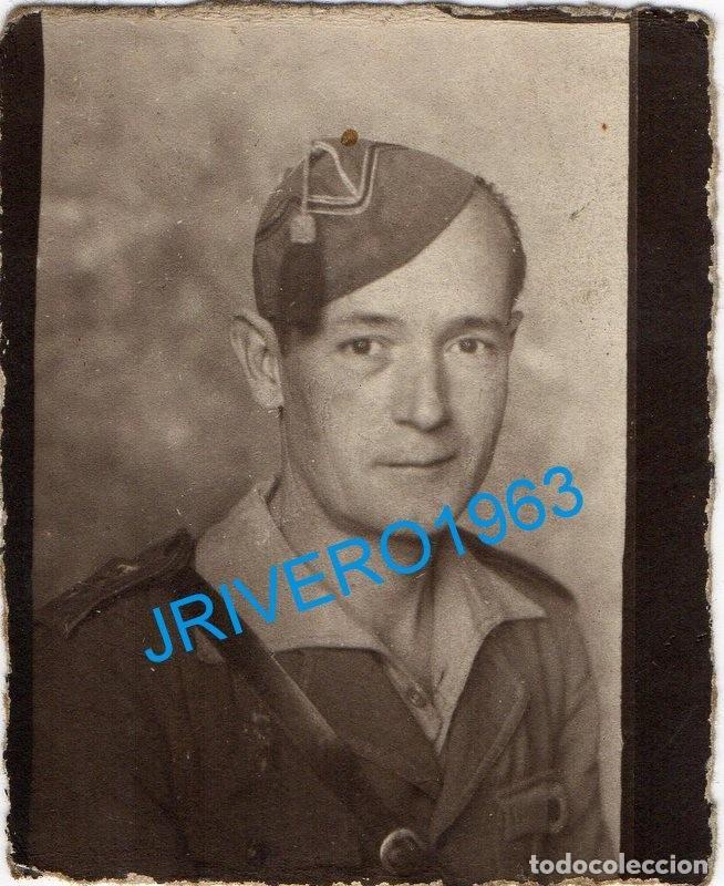 GUERRA CIVIL, FOTOGRAFIA DE UN LEGIONARIO, 60X78MM (Militar - Fotografía Militar - Guerra Civil Española)