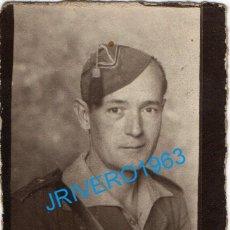 Militaria: GUERRA CIVIL, FOTOGRAFIA DE UN LEGIONARIO, 60X78MM. Lote 235243670