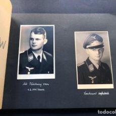 Militaria: ALBUM / OFICIALES - SOLDADOS ALEMANES ( NAZIS ) AÑO 1941 / PARIS-VIENA-BADEN / 80 FOTOS / ALEMANIA. Lote 235578780