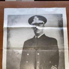 Militaria: FOTOGRAFIA O CARTEL ANTIGUO DE FRANCISCO FRANCO DESCONOCIDA DE MEDIDAS: 70 CMS. DE ALTO X 50 DE LARG. Lote 235927065