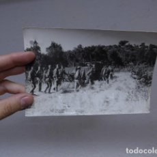 Militaria: ANTIGUA FOTOGRAFIA DEL CORREO DE ANDALUCIA, 5 SET 1936, ARTILLERIA EN SIERRA D CORDOBA, GUERRA CIVIL. Lote 236310960