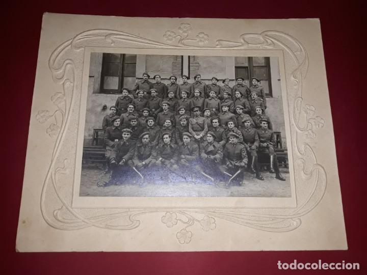 Militaria: Fotografía Gran Formato Artillería Española Años 30 Marco Victoriano - Foto 2 - 236796480