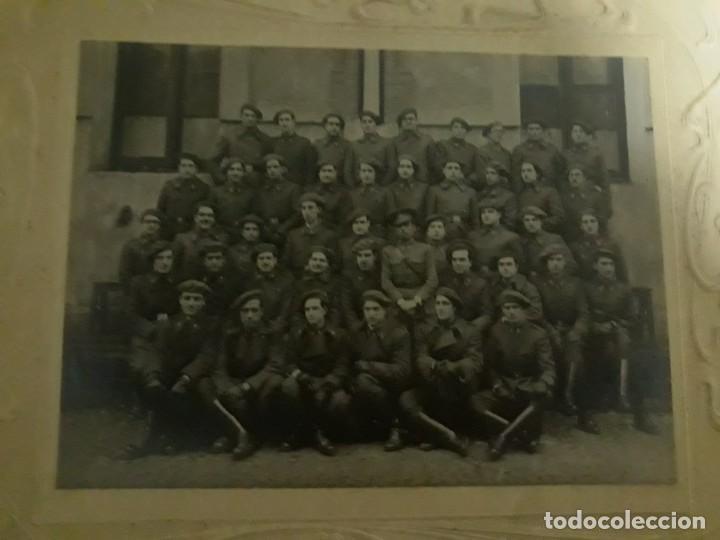 Militaria: Fotografía Gran Formato Artillería Española Años 30 Marco Victoriano - Foto 3 - 236796480