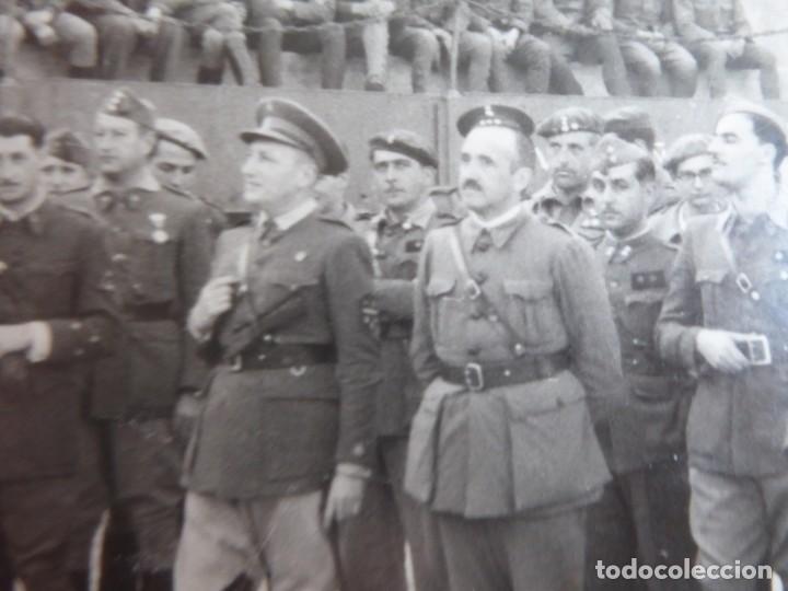 Militaria: Fotografía oficiales del ejército nacional. - Foto 4 - 237404420