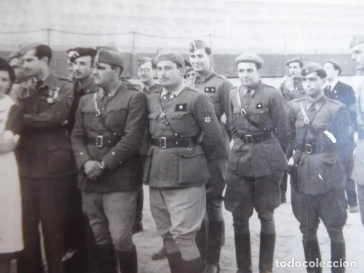 FOTOGRAFÍA OFICIALES DEL EJÉRCITO NACIONAL. (Militar - Fotografía Militar - Guerra Civil Española)
