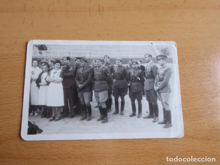 Militaria: Fotografía oficiales del ejército nacional. - Foto 2 - 237404565