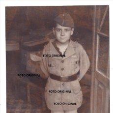 Militaria: NIÑO TRAJE MILITAR OFICIAL LEGION CONDOR AVIACION GUERRA CIVIL TROPAS FRANCO. Lote 237623155