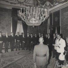 Militaria: AUDIENCIA DEL CAUDILLO (19/10/1967).. Lote 237653580