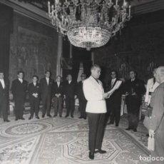 Militaria: FRANCO, AUDIENCIA AYUNTAMIENTO DE MULA, MURCIA (16/02/1967).. Lote 237661355
