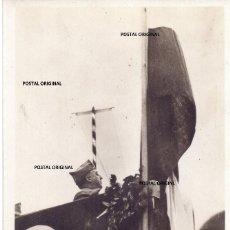 Militaria: RARISIMA POSTAL FRANCESA FRANCISCO FRANCO DISCURSO ESVASTICA ALEMANA GUERRA CIVIL ESPAÑOLA. Lote 238174430