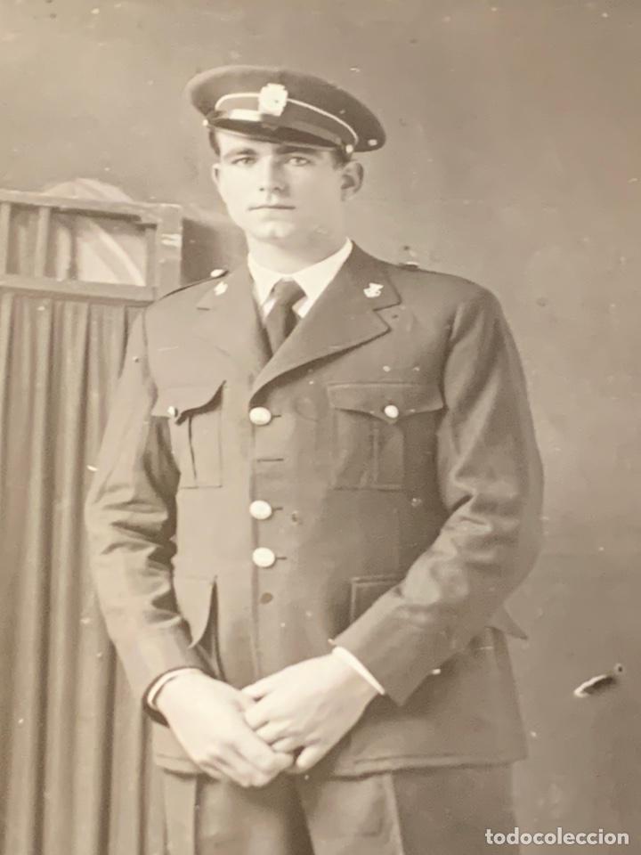 FOTO DEL CUERPO DE SEGURIDAD II REPUBLICA (Militar - Fotografía Militar - Guerra Civil Española)