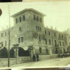 Militaria: ANTIGUA FOTOGRAFÍA DEL CUARTEL DE LA GUARDIA CIVIL DE SANTANDER 1928?. Lote 239718450
