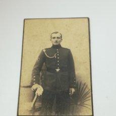 Militaria: SOLDADO ALEMAN. FOTOGRAFIA DE ANTONIO BURBACH, TRIER. 6 X 10CM. VER. Lote 240407460