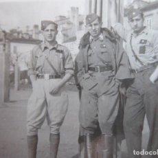 Militaria: FOTOGRAFÍA ALFÉRECES PROVISIONALES DEL EJÉRCITO NACIONAL. CORUÑA 1937. Lote 240517350