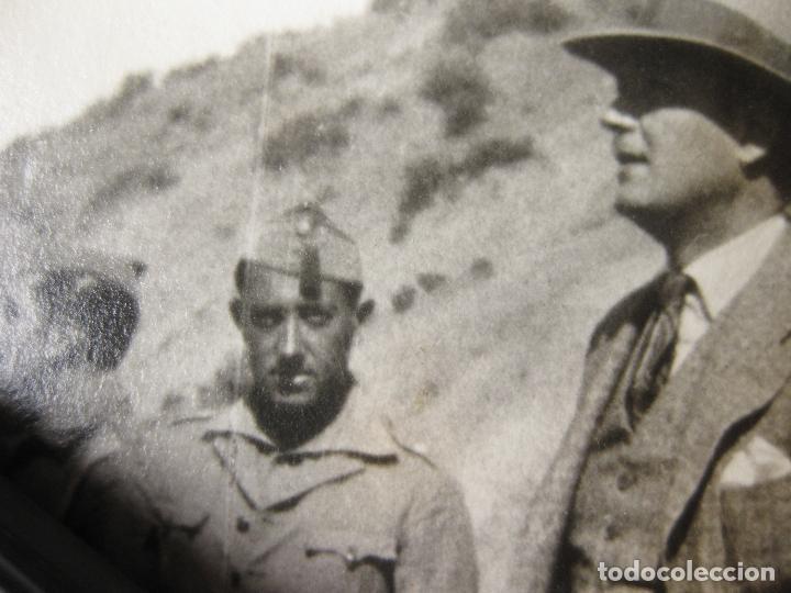 Militaria: FOTOGRAFÍA CON MANDOS DE LA LEGIÓN DE LA ÉPOCA FUNDACIONAL - AFRICA - Foto 3 - 241505370
