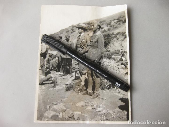 FOTOGRAFÍA CON MANDOS DE LA LEGIÓN DE LA ÉPOCA FUNDACIONAL - AFRICA (Militar - Fotografía Militar - Otros)