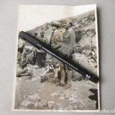 Militaria: FOTOGRAFÍA CON MANDOS DE LA LEGIÓN DE LA ÉPOCA FUNDACIONAL - AFRICA. Lote 241505370
