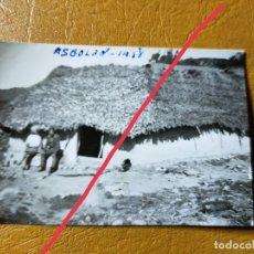 Militaria: FOTOGRAFÍA ANTIGUA. FOTÓGRAFO LABORATORIOS ROS.CEUTA. FOTO AÑO 1938. MILITAR.. Lote 242122535