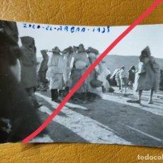Militaria: FOTOGRAFÍA ANTIGUA. FOTÓGRAFO LABORATORIOS ROS.CEUTA. FOTO AÑO 1938. MILITAR.. Lote 242123585