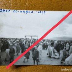 Militaria: FOTOGRAFÍA ANTIGUA. FOTÓGRAFO LABORATORIOS ROS.CEUTA. FOTO AÑO 1938. MILITAR.. Lote 242126660