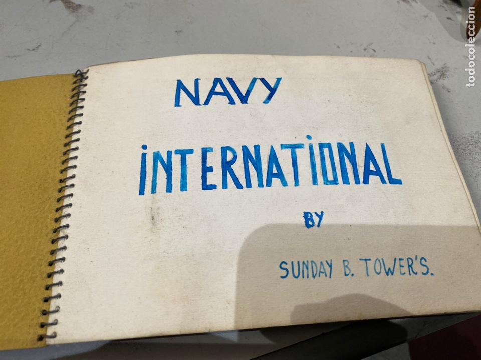 Militaria: Álbum de espionaje 29 fotografías militares originales naves. Buques . Submarinos 2 guerra mundial - Foto 2 - 242443565