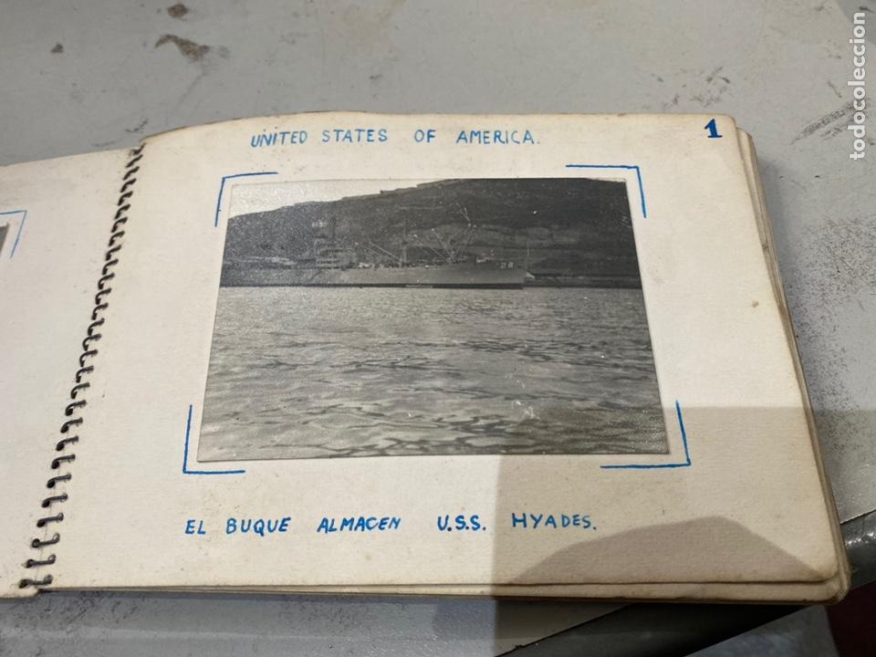 Militaria: Álbum de espionaje 29 fotografías militares originales naves. Buques . Submarinos 2 guerra mundial - Foto 4 - 242443565