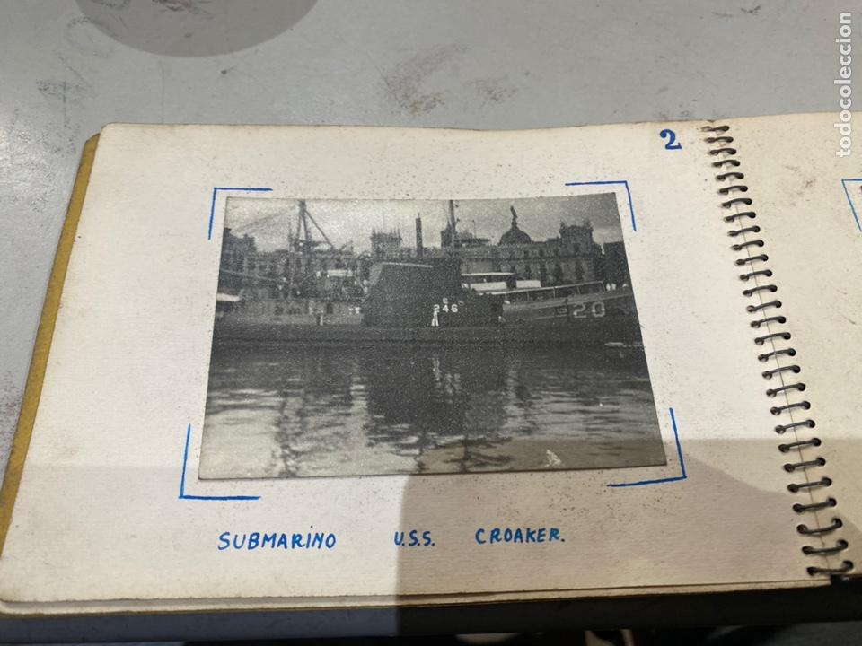 Militaria: Álbum de espionaje 29 fotografías militares originales naves. Buques . Submarinos 2 guerra mundial - Foto 5 - 242443565