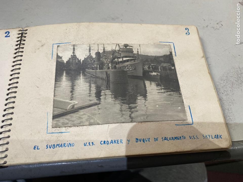 Militaria: Álbum de espionaje 29 fotografías militares originales naves. Buques . Submarinos 2 guerra mundial - Foto 6 - 242443565