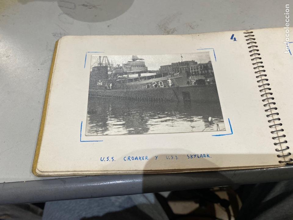 Militaria: Álbum de espionaje 29 fotografías militares originales naves. Buques . Submarinos 2 guerra mundial - Foto 7 - 242443565